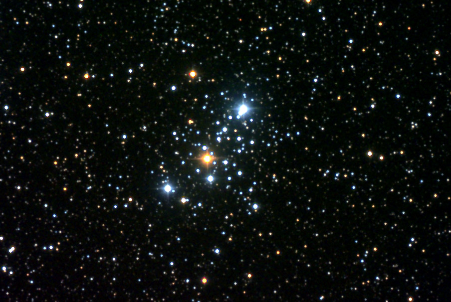 M103 - NGC 581 open cluster detail