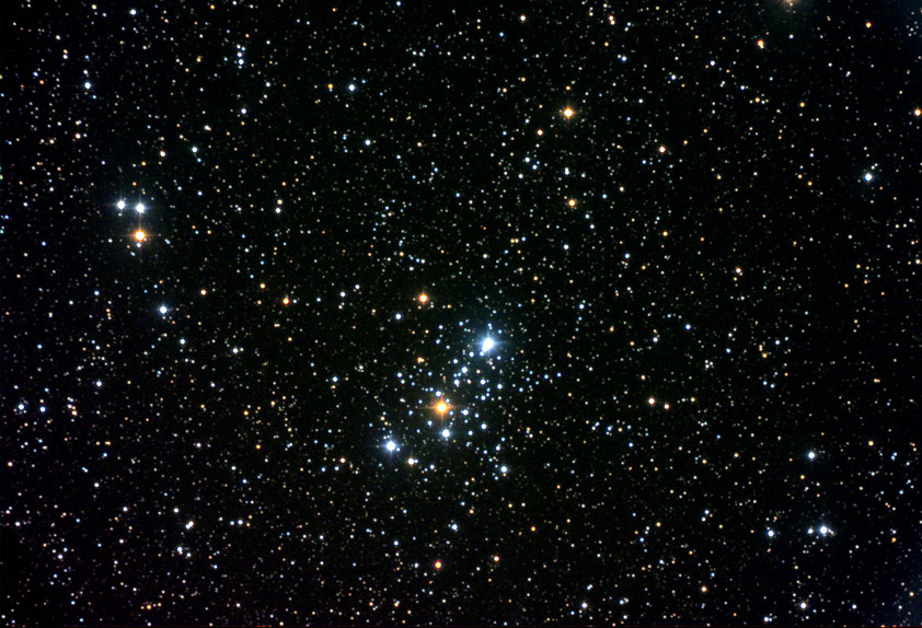 M103 - NGC 581 open cluster